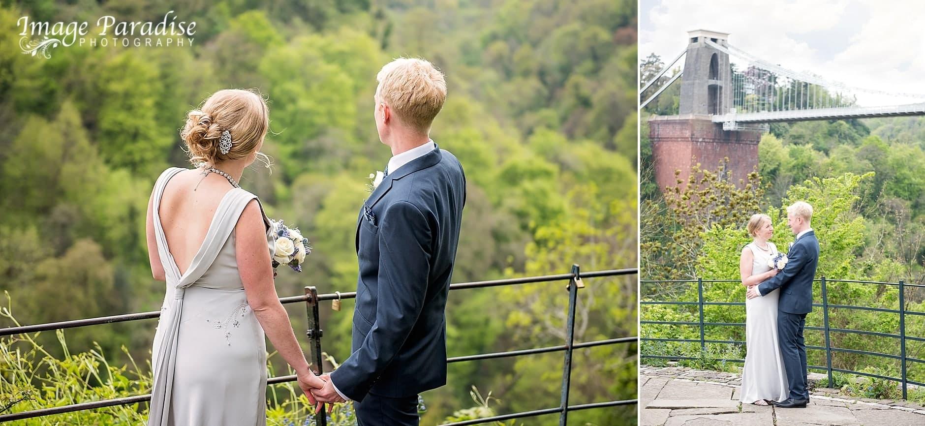 Avon Gorge hotel wedding by the Clifton suspension bridge