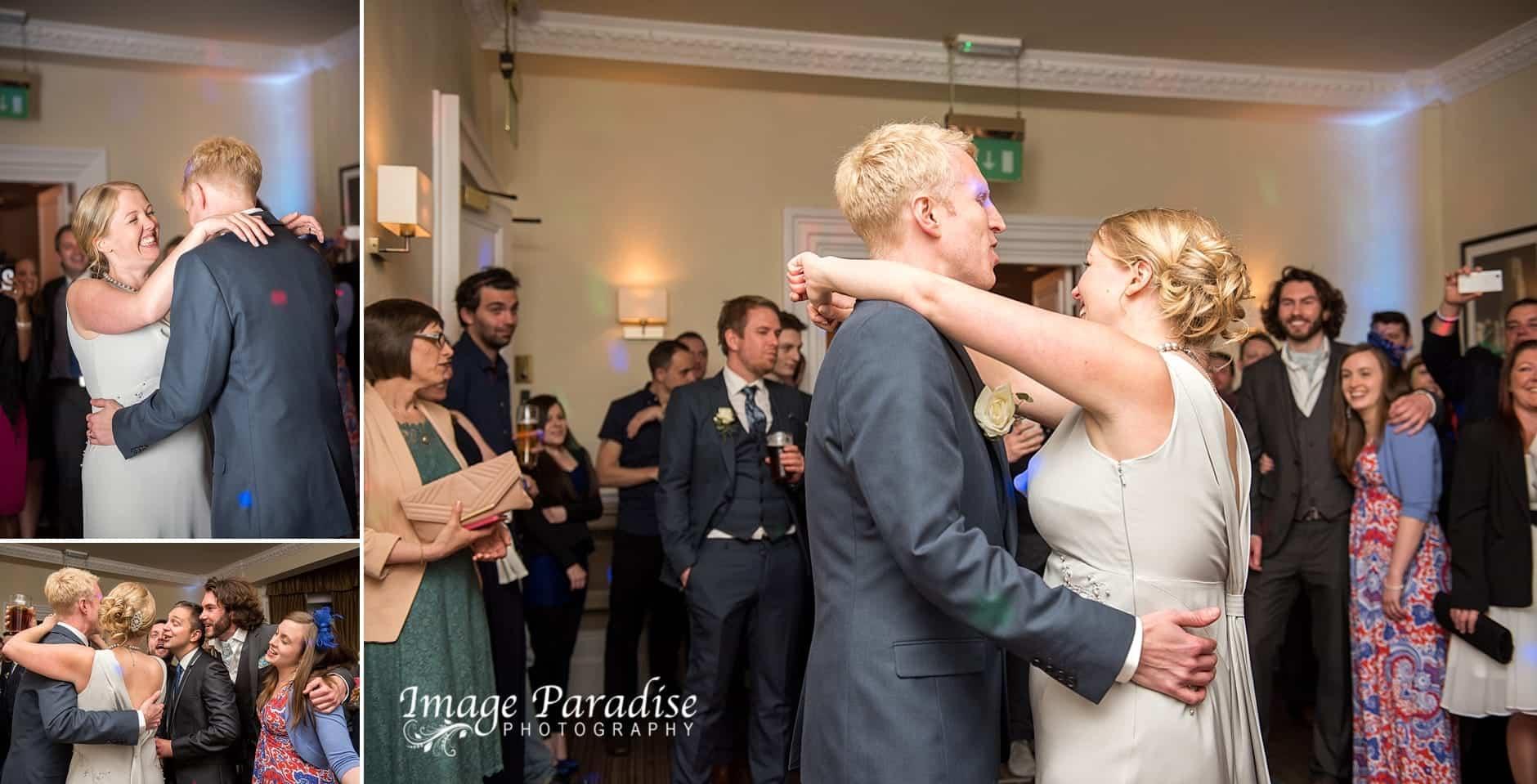 First dance at Avon Gorge Hotel wedding