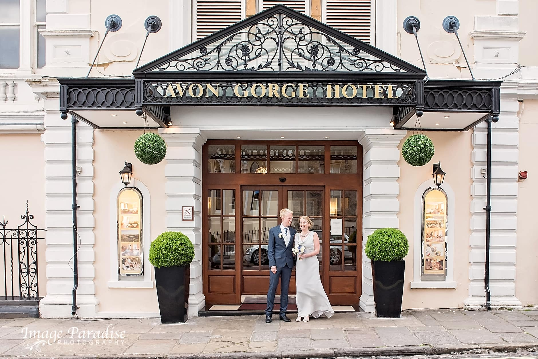 Avon Gorge Hotel wedding, Bristol