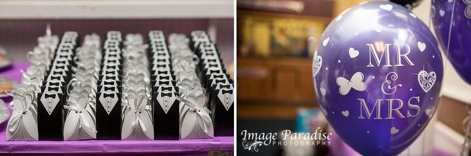 Mr & Mrs wedding decorations