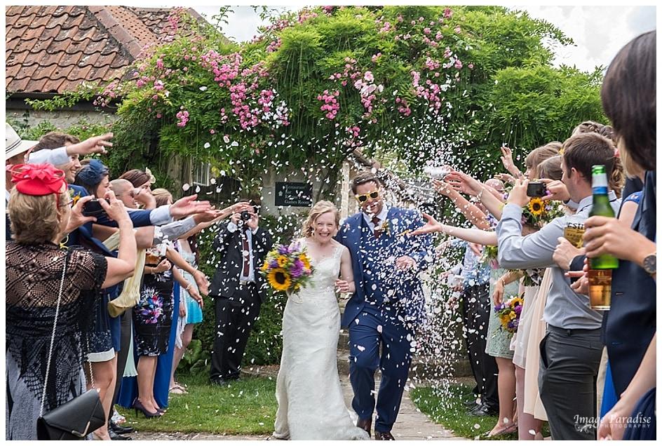 The Moonraker wedding, Bradford on Avon