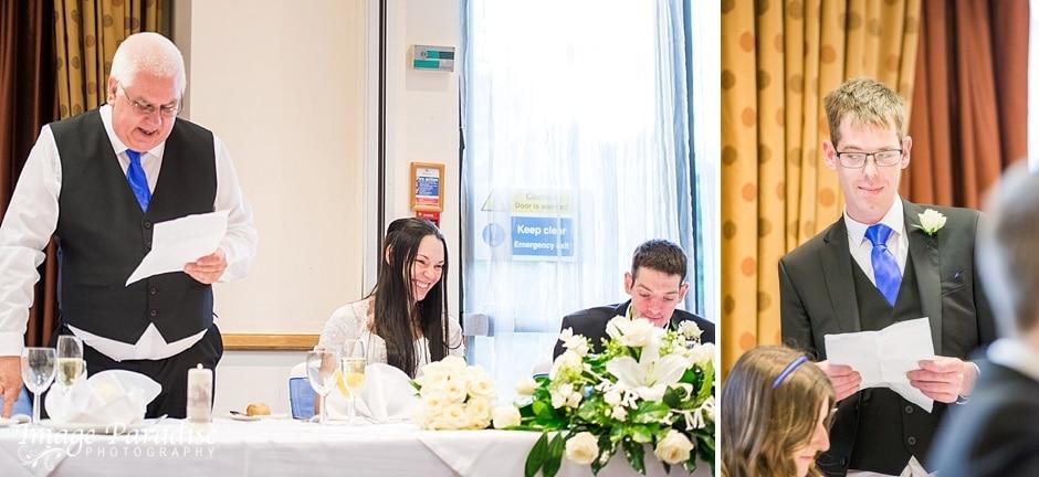 wedding Speeches Hilton Bristol