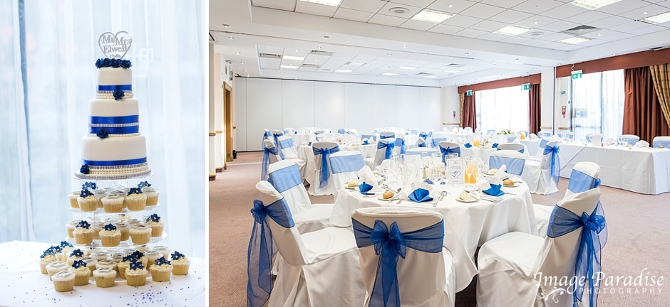 wedding breakfast Hilton Bristol