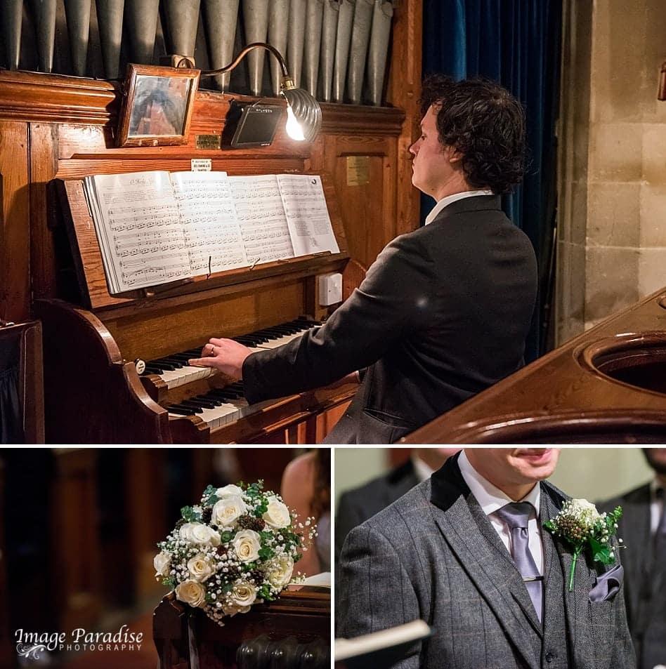 Organ player St Katherine's church Holt