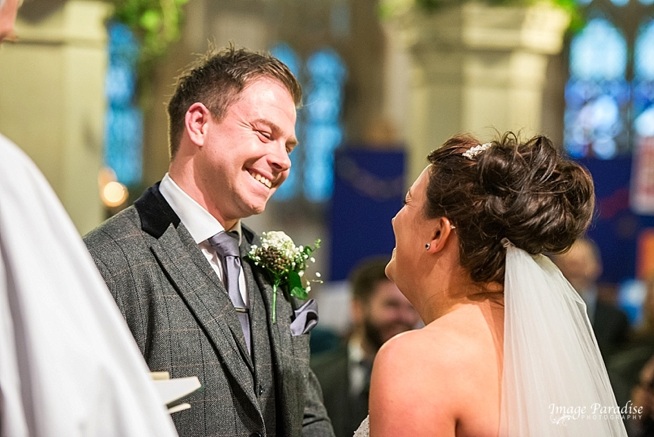 marriage at St Katherine's Church Holt