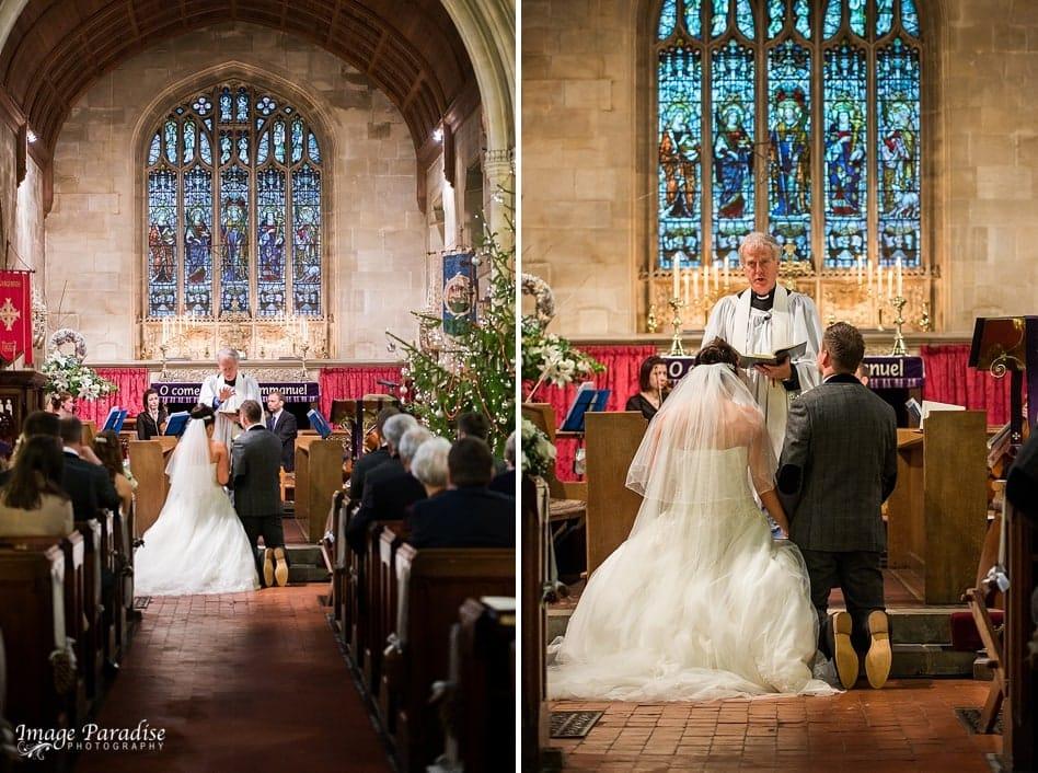Church wedding St Katherine's church, Holt