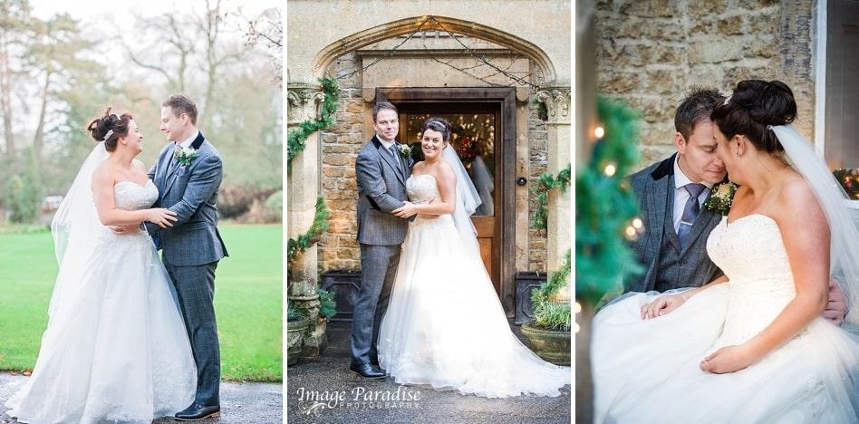 Bride & groom portraits at Homewood farm Hotel Bath