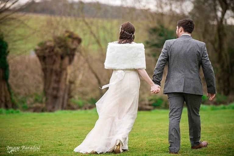 Priston watermill spring wedding