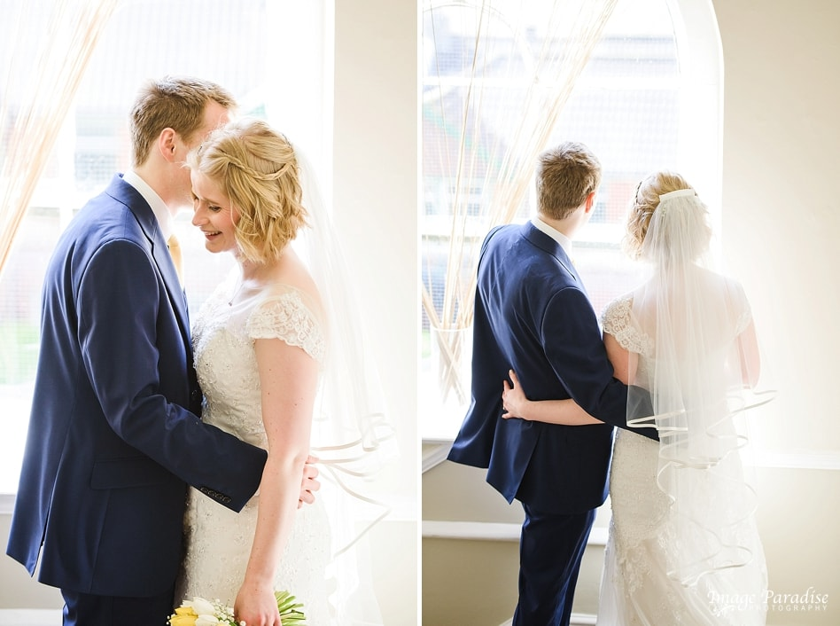 just married at No4 Clifton village Bristol - The Rodney hotel