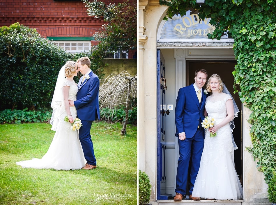 Bride and groom No4 Clifton village, the Rodney hotel Bristol