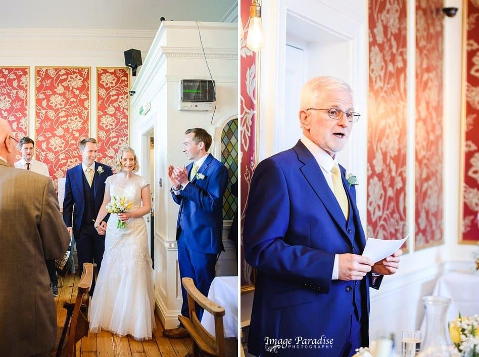 Wedding speeches No4 Clifton village