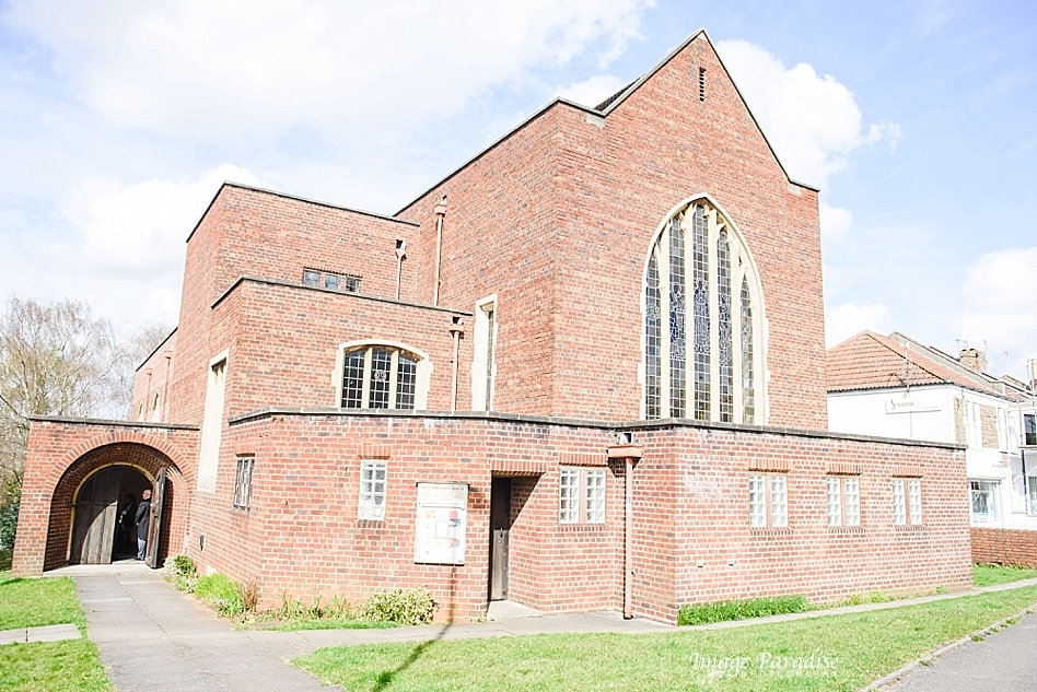 St Cuthbert church wedding Brislington Bristol