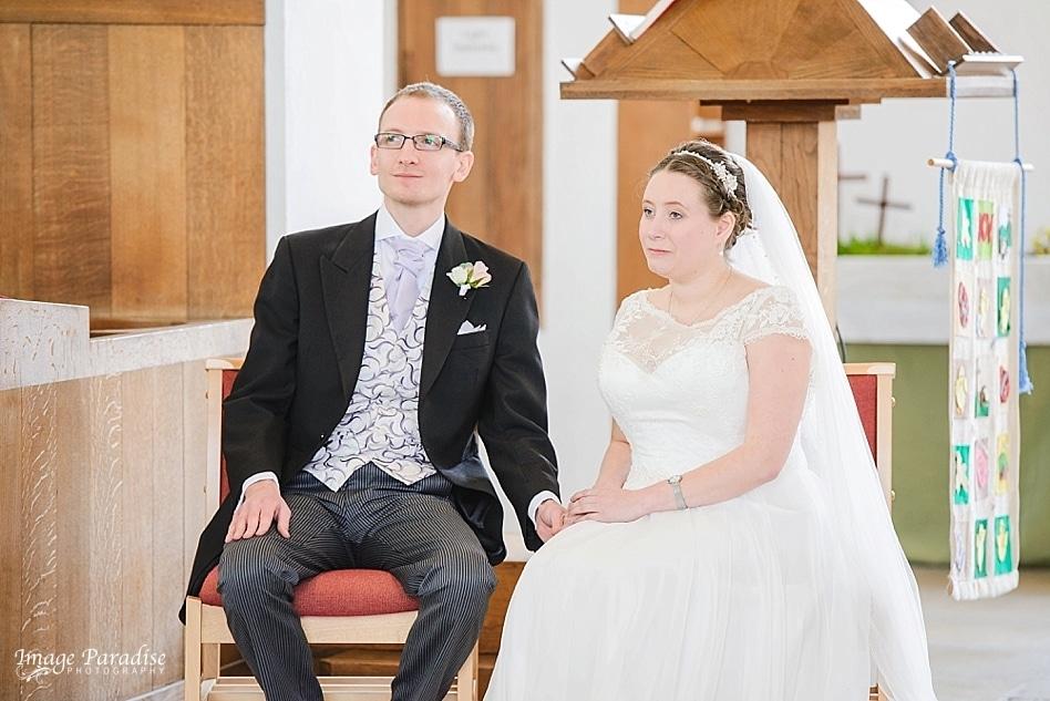 Bride & Groom St Cuthbert church Brislington Bristol