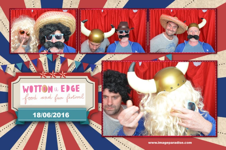 Wotton-under-edge charity event/ Photo Booth