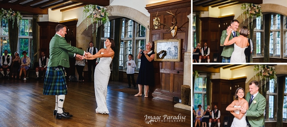First dance at Chavenage House