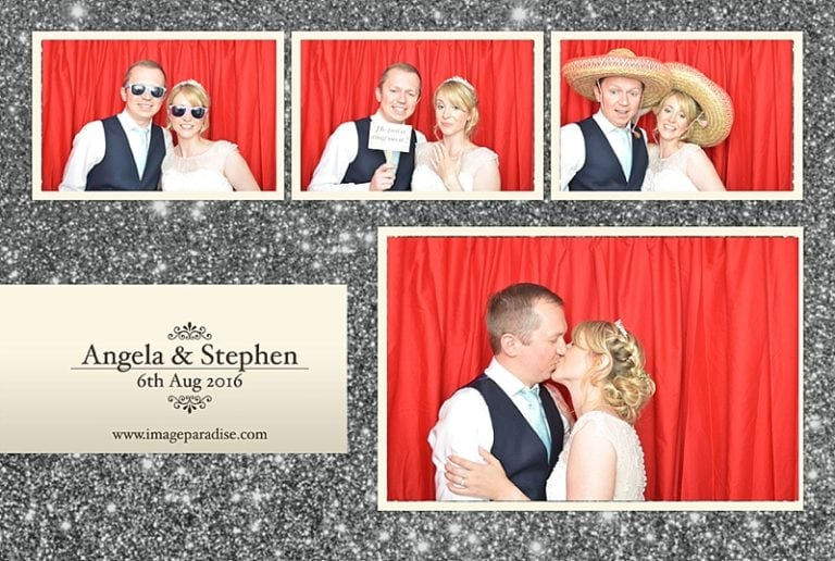 Aztec West hotel wedding photo booth