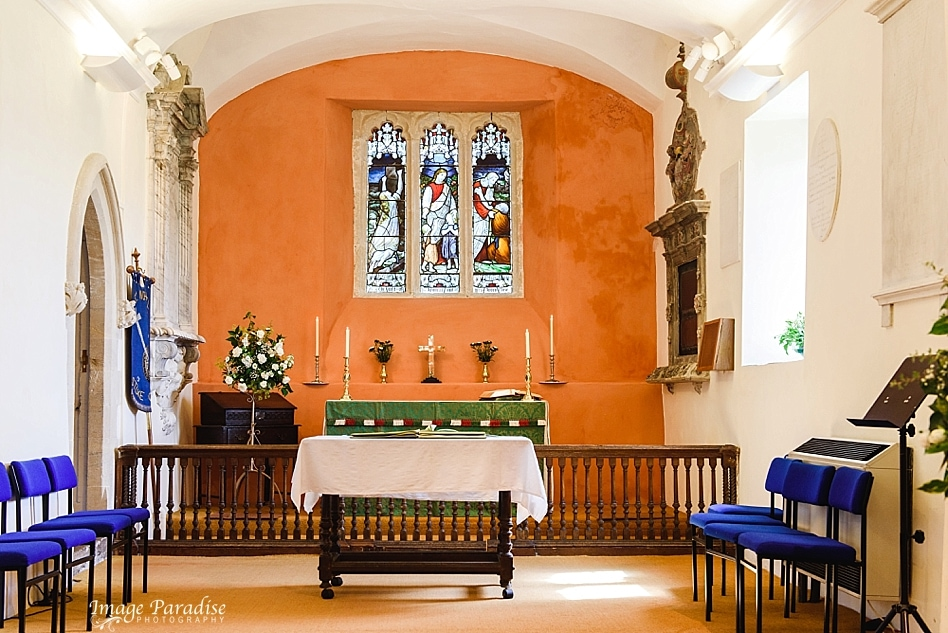 Inside St Michaels church, Stoke Gifford Bristol