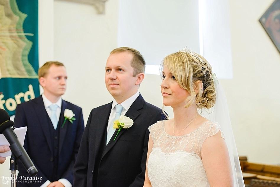 Wedding at St Michaels church Bristol