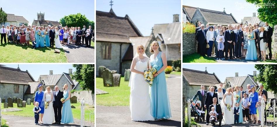 Group photos at St Michaels church Bristol