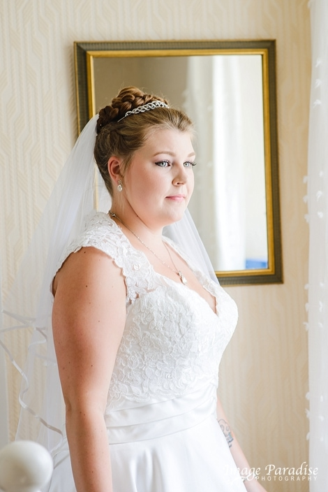Bridal portrait Mercure Bristol North wedding