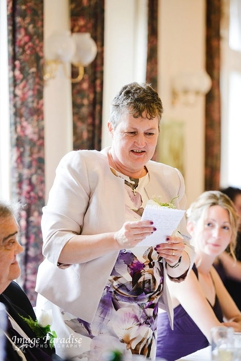 Mothers wedding speech