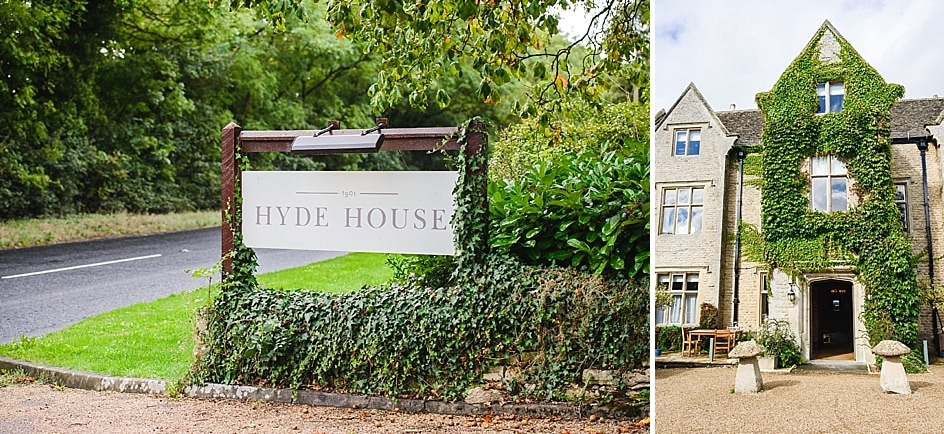 Entrance to Hyde House