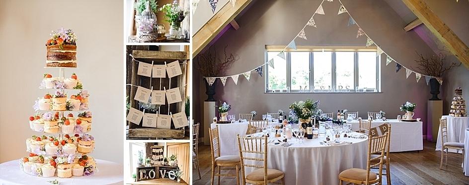 Country wedding ideas at Hyde barn