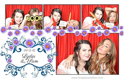 Stow on the Wold wedding photo booth