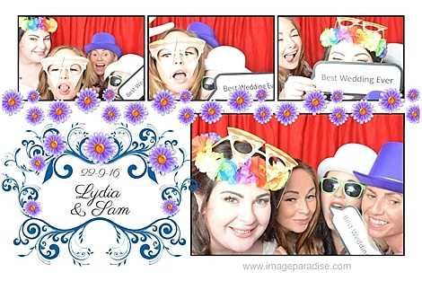 crazy photo booth images Stow on the wold photo booth hire
