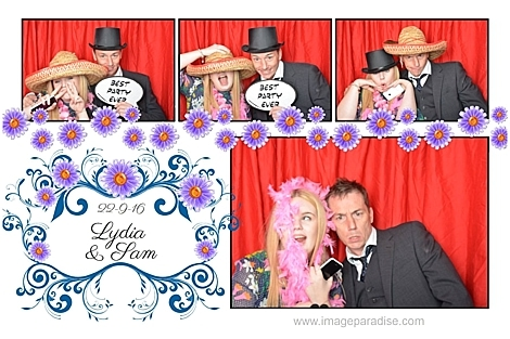 top hat photo booth