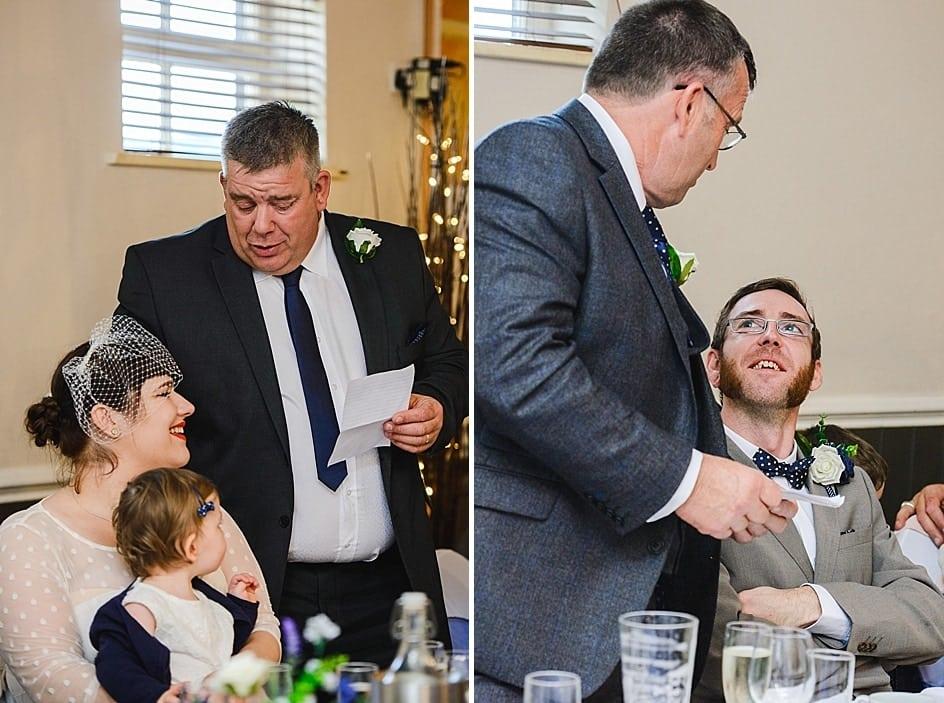 Gupshill Manor wedding speeches