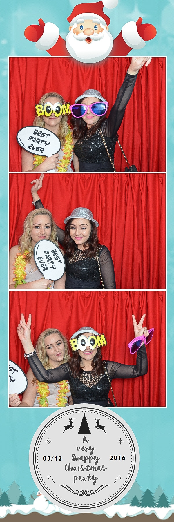 photo booth best party ever photo strips