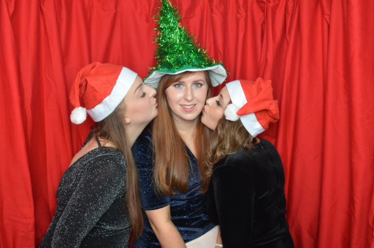 Xmas party photo booth