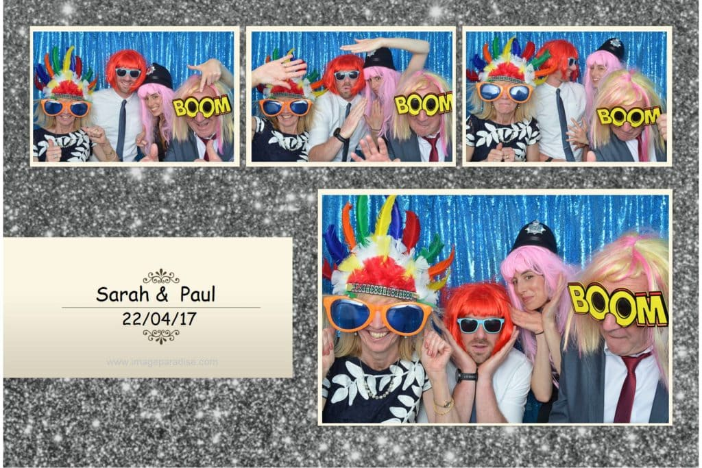 Fancy dress photo booth in Gloucestershire