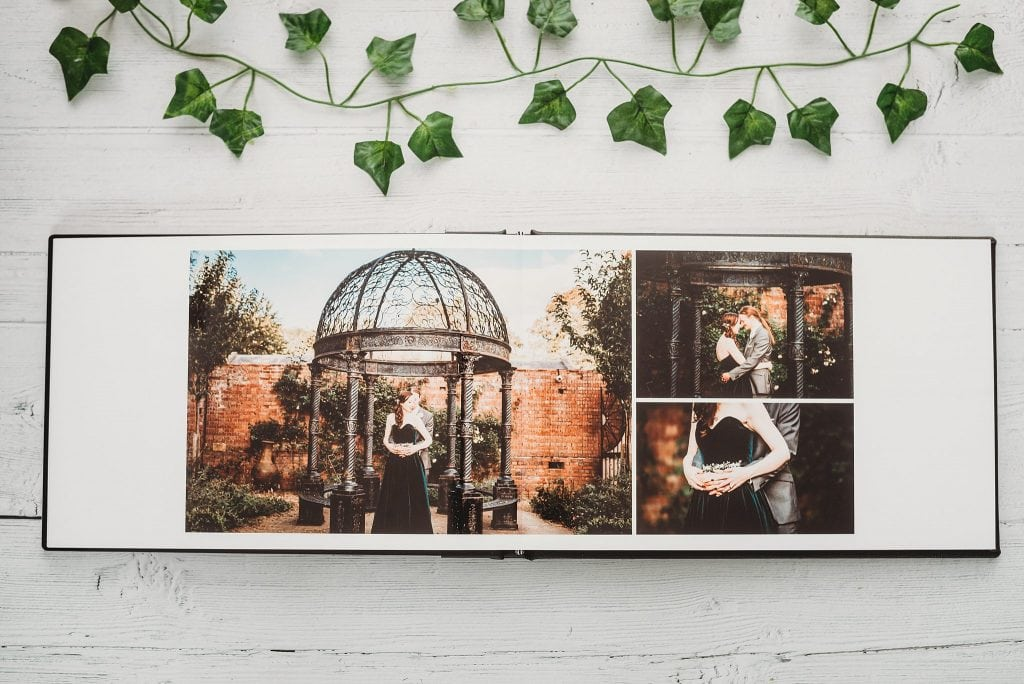 Wedding Album showing photos at Kingsweston House Bristol