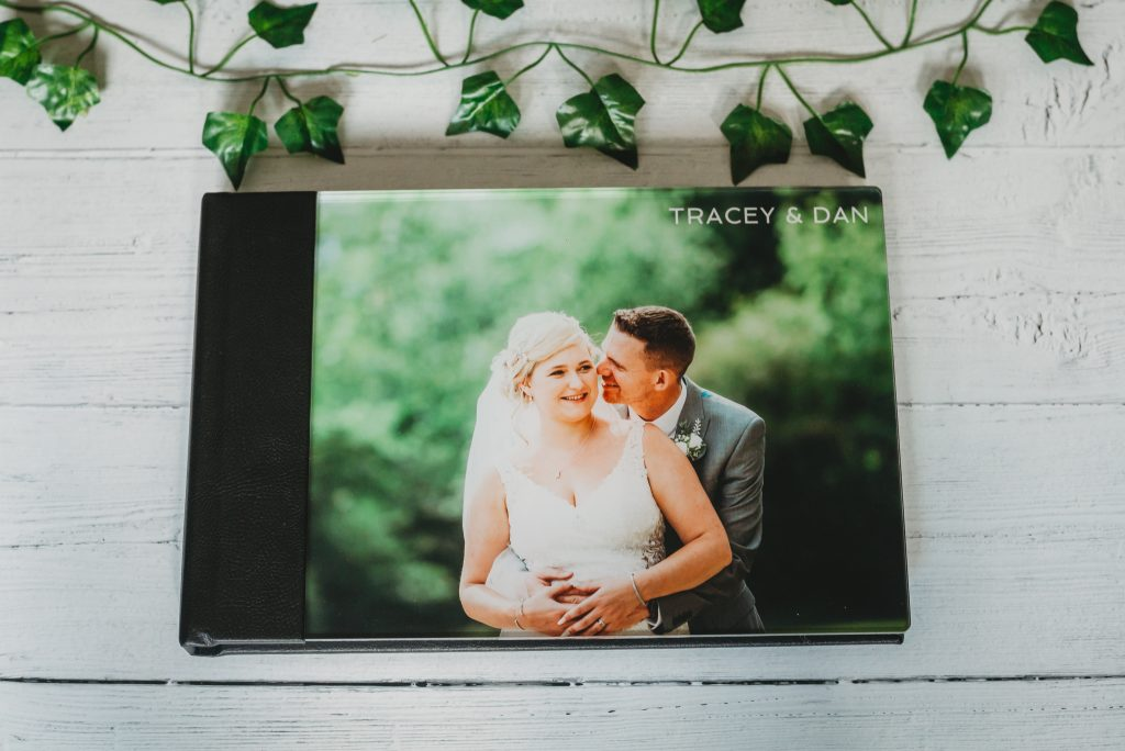 Acrylic wedding album