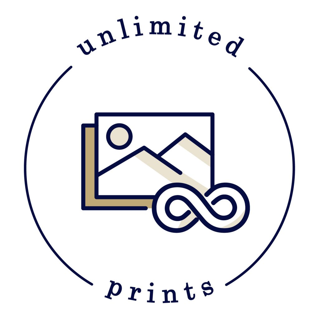 Icon of unlimited prints