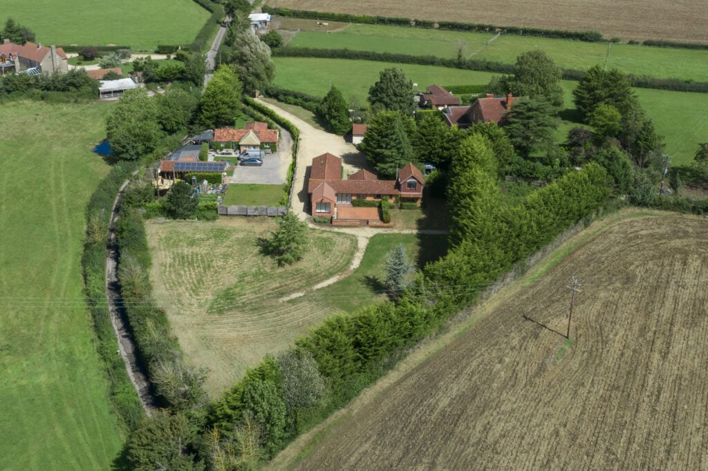 An aerial view of a property for an Estate Agent in Bristol