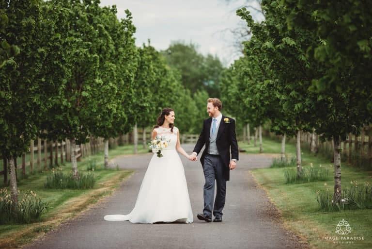 Wick Farm wedding reception – Antonia & Sam